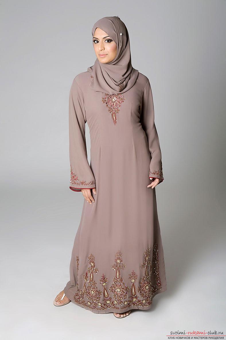 Платья восточного стиля с выкройками