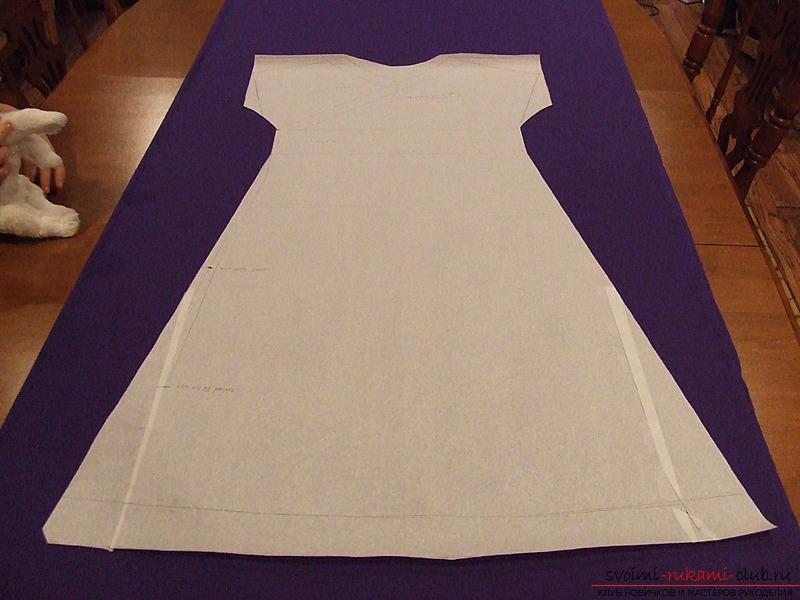 Своими руками шьем трикотажное платье