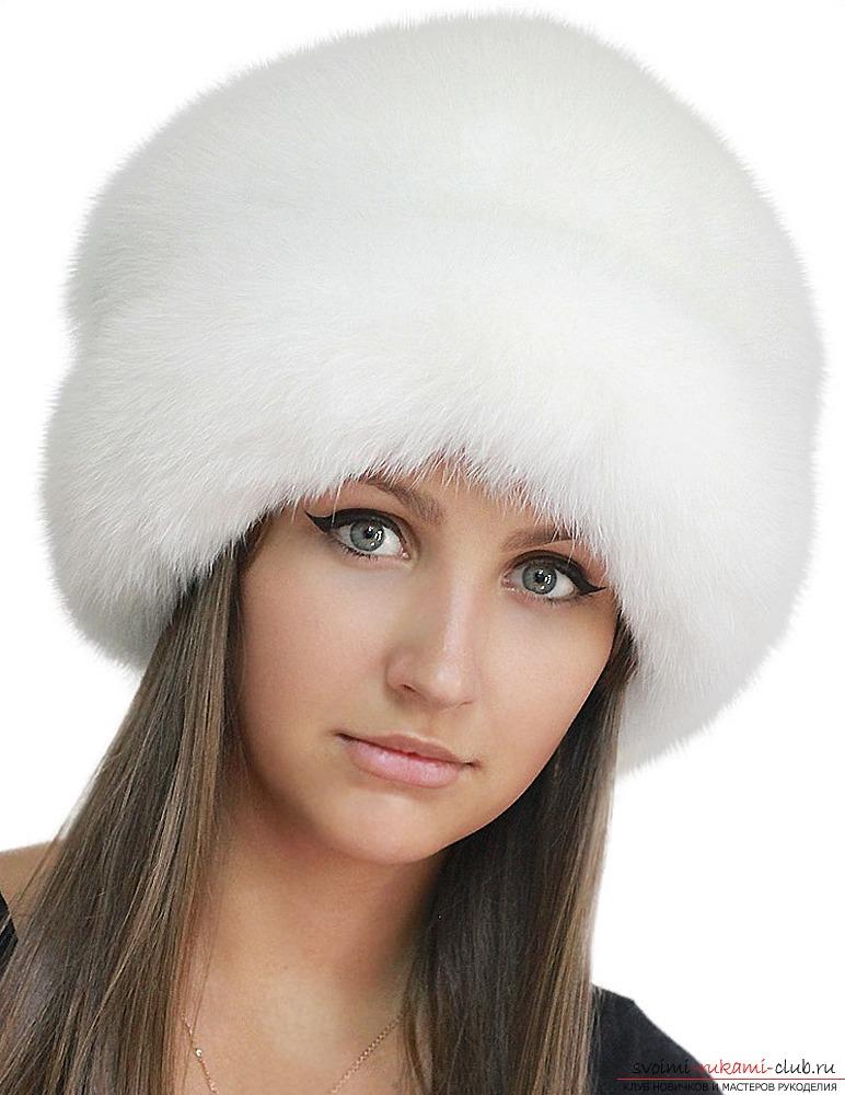 поделка выкройки зимней шапки