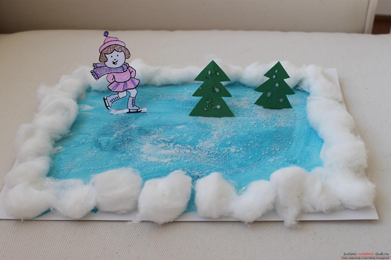 Поделки на тему зима своими руками для детского сада фото