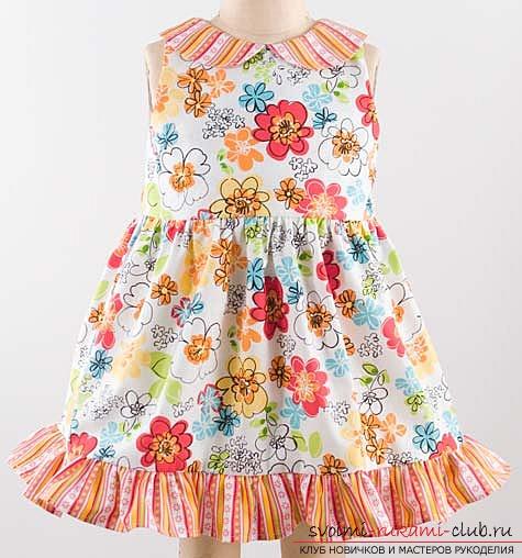 Выкройки платьев для девочек с оборками фото 772