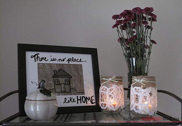 Поделки для дома и их фото - оригинальные поделки для вашего жилища 19 фотографий