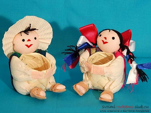 Букеты для кукол своими руками