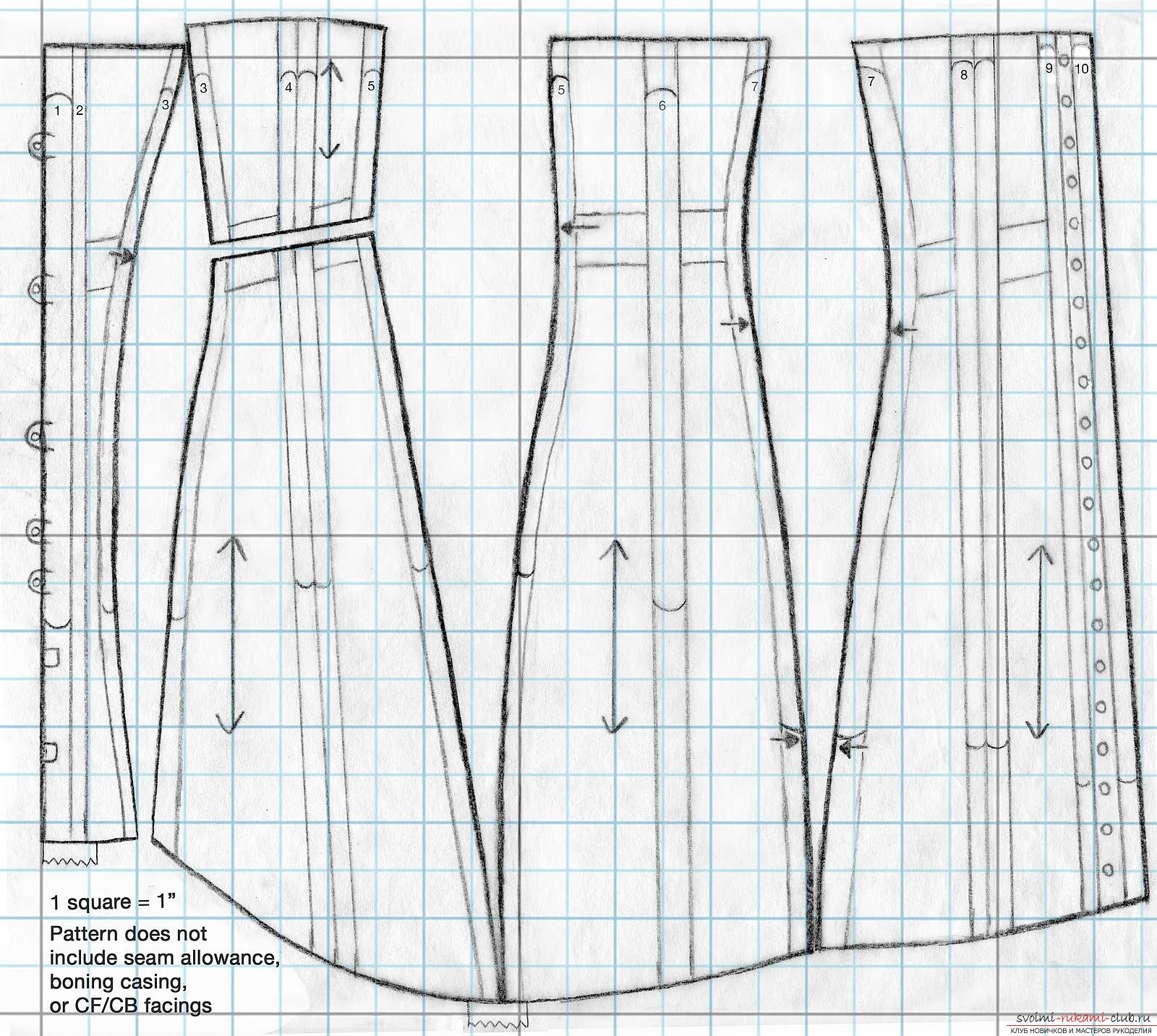 Вязание без швов спицами схемы
