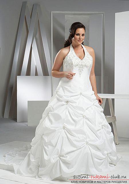 Создаем выкройки платьев для полных женщин своими руками, самые