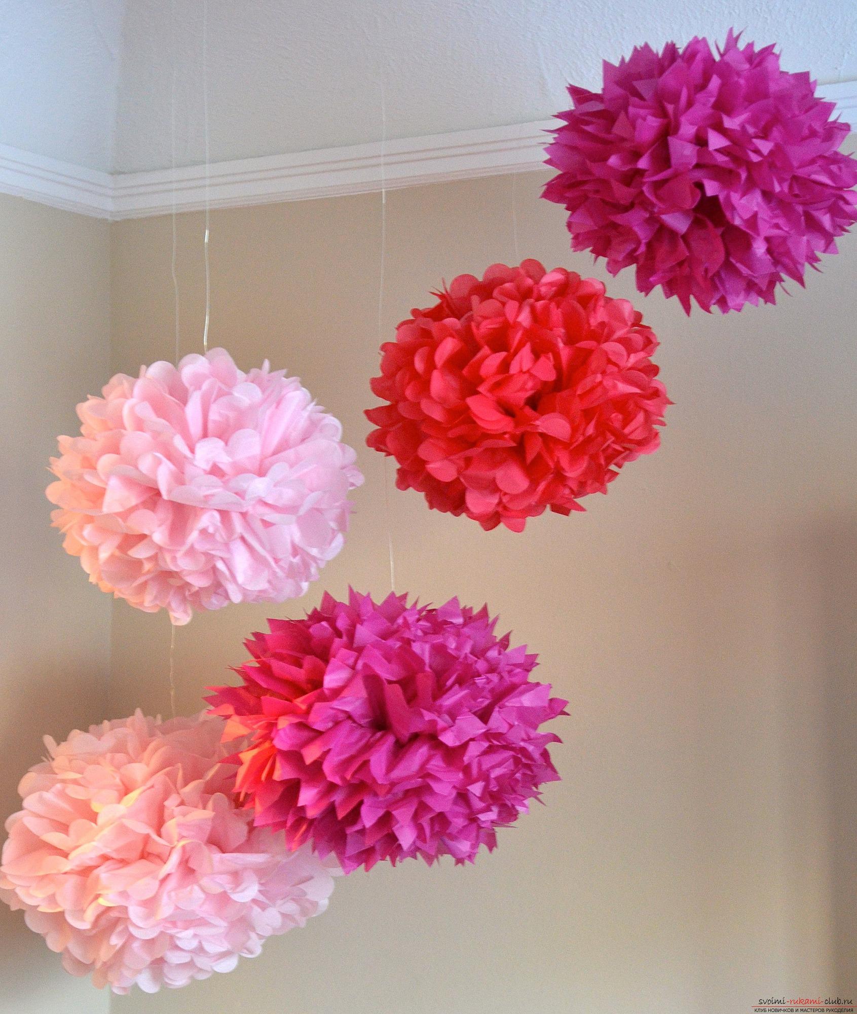Как из салфеток сделать цветок пошагово