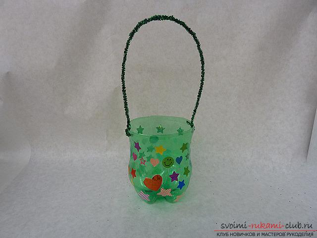 Самые простые поделки из пластиковых бутылок своими руками