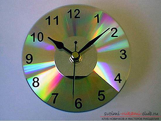 Часы поделка своими руками фото