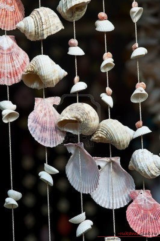 Поделки из ракушек и их фото напомнят морские пейзажи и солёный вкус моря 18 фотографий