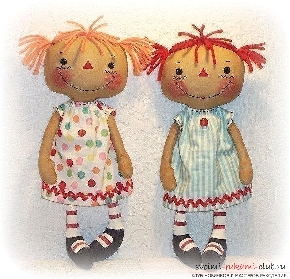Кукла из ткани своими руками как делать