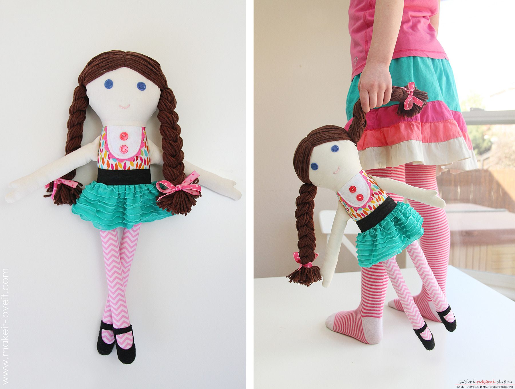 Куклы своими руками мастер класс из ткани