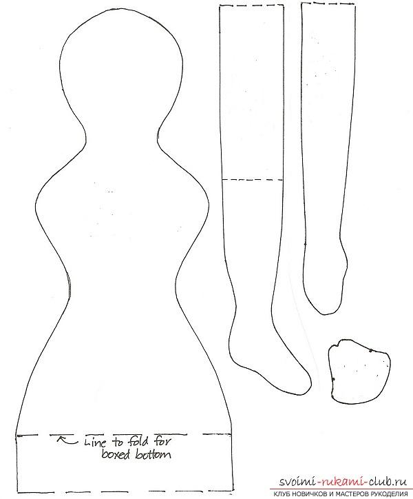 Выкройка текстильная кукла своими руками мастер класс 348