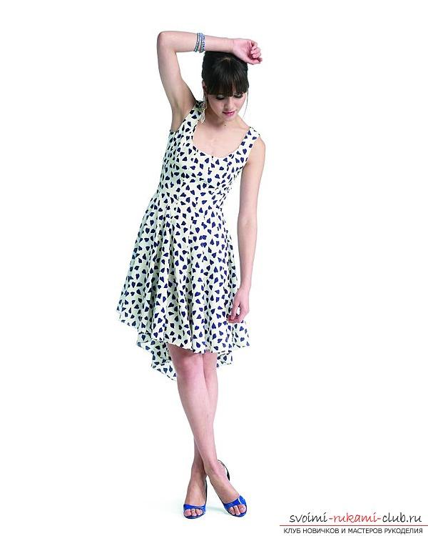 Как сшить простое летнее платье на руках фото 745