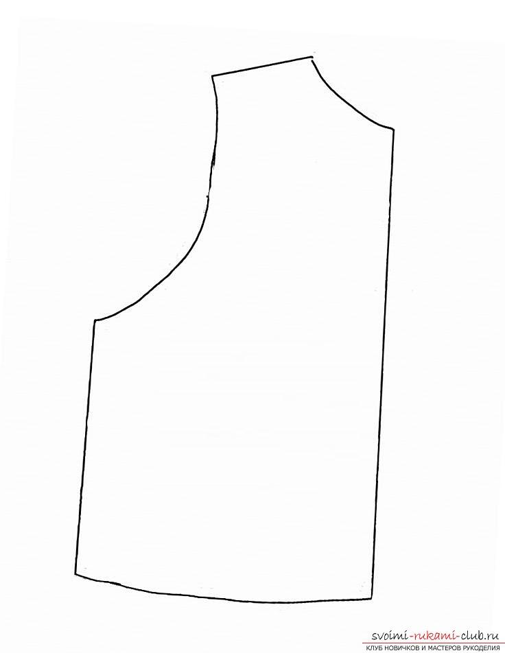 Выкройка меховых жилетов 2015 - модные модели