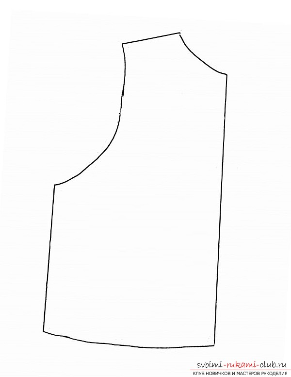 Выкройка меховых жилетов 2015 - модные модели (20
