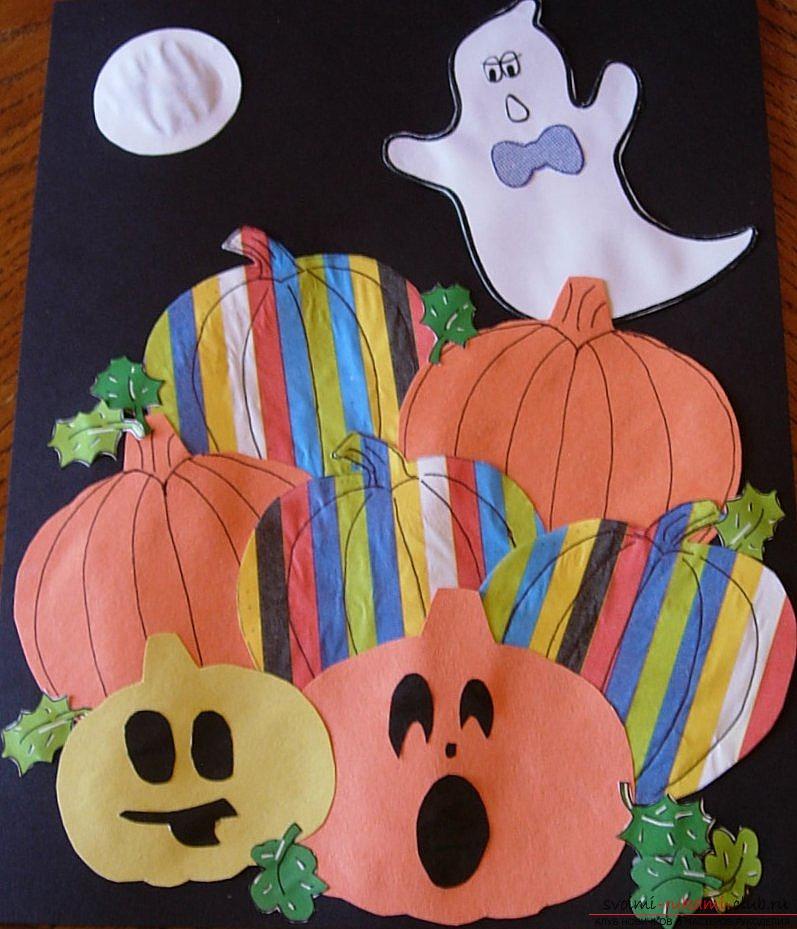 Поделки для детей хэллоуин 85