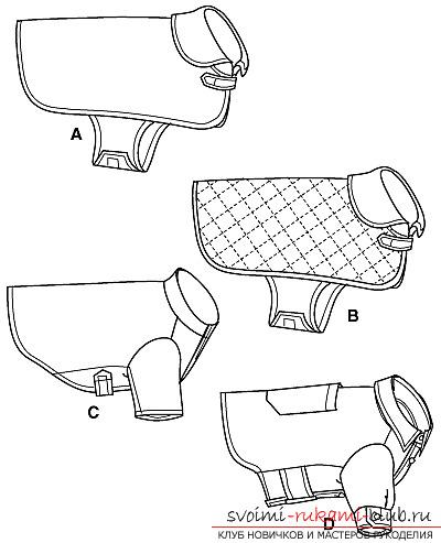 Эскизы одежды для кошки