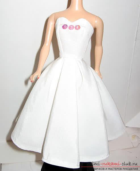 Выкройка накидки для куклы