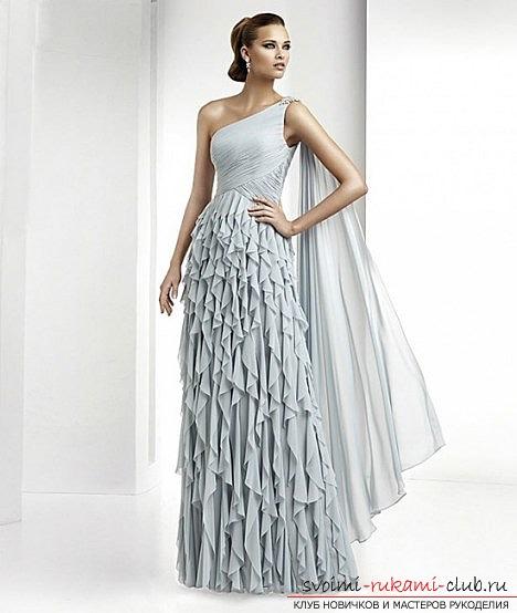 Фото выкройки на вечерние платья