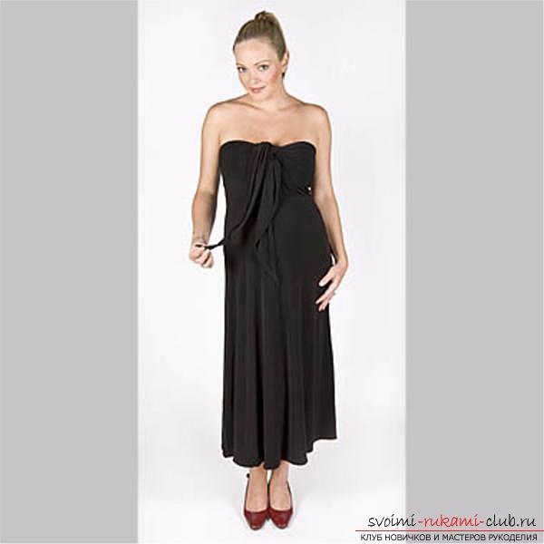 Выкройки простых платьев полным фото 352