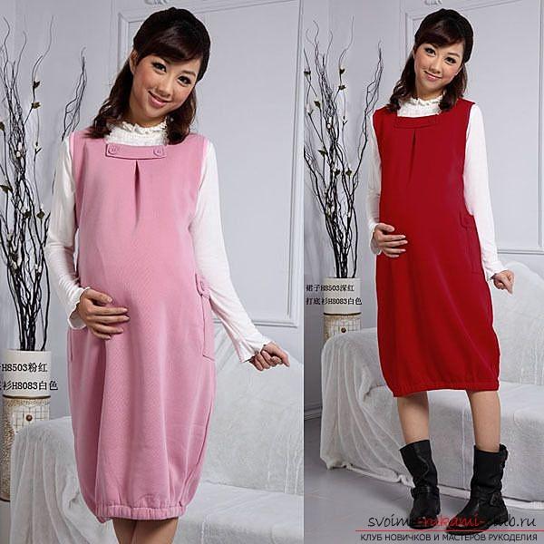 Беременный юбка модели