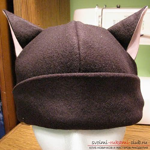 Сшить шапку своими руками с фото