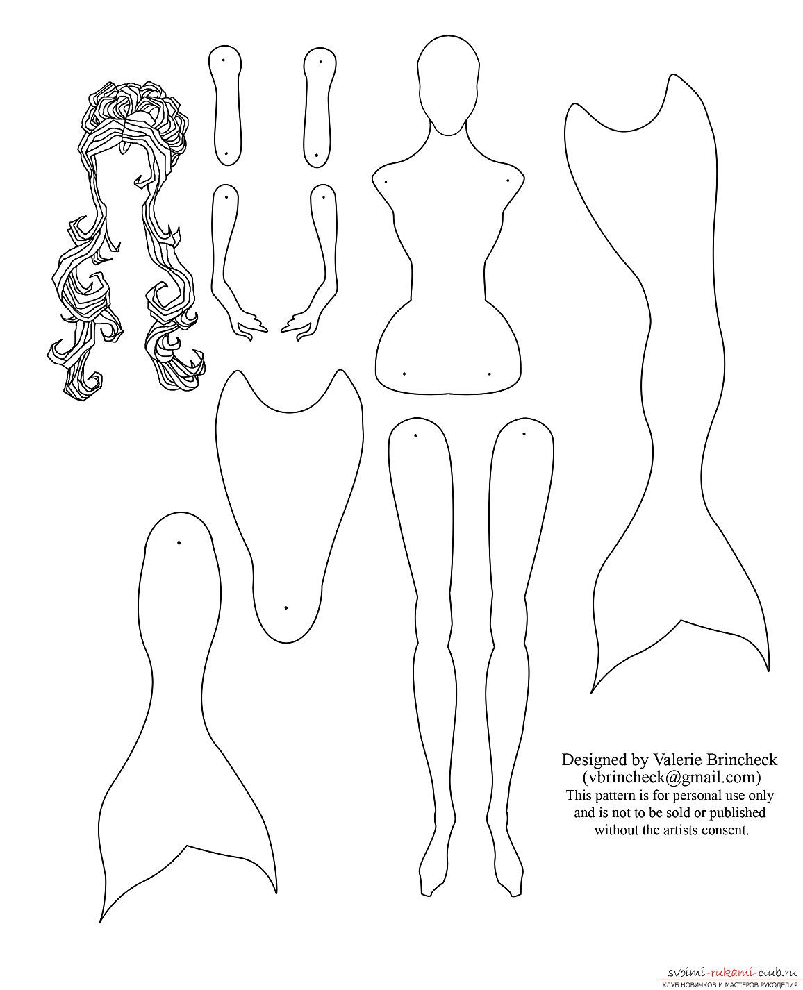 Бумажные куклы выкройки