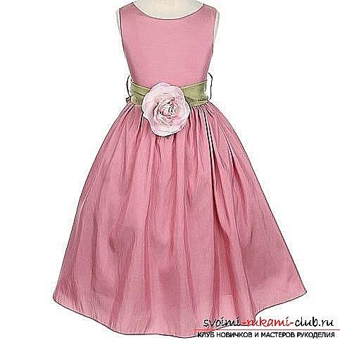 Платье ребенку своими руками без выкройки фото 440