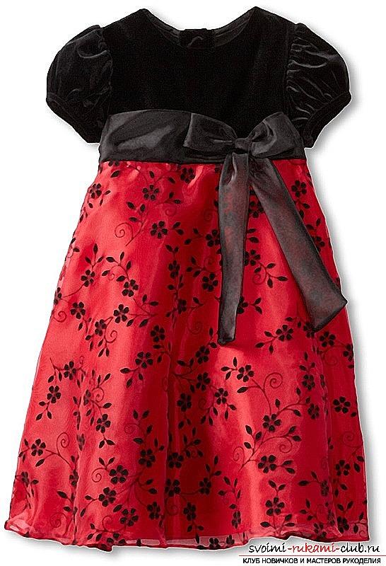 Сшить детское нарядное платье своими руками фото фото 482