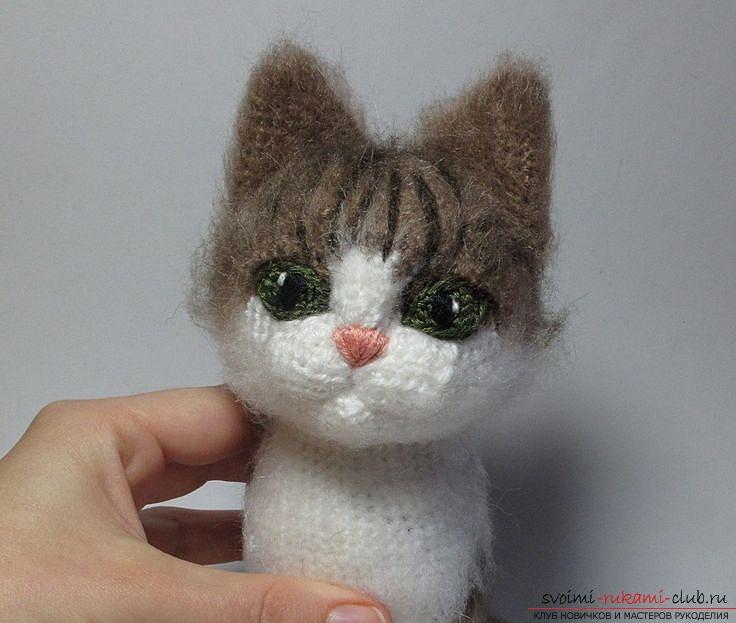 Мягкая игрушка своими руками кот выкройки