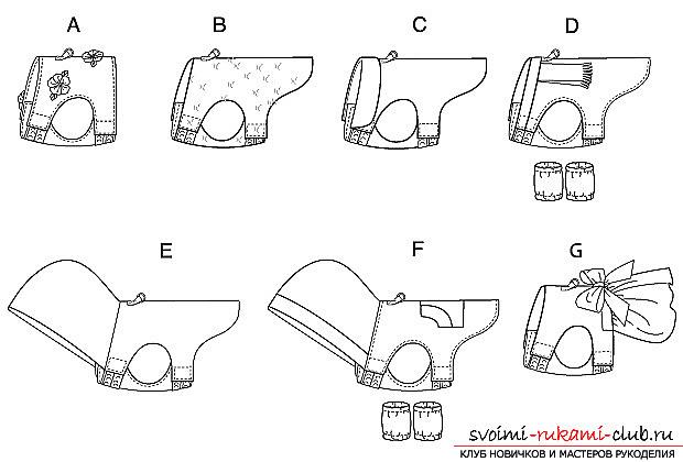 Схемы для вязания для йоркширского терьера
