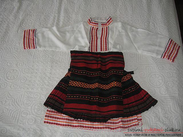 Цыганский костюм своими руками фото