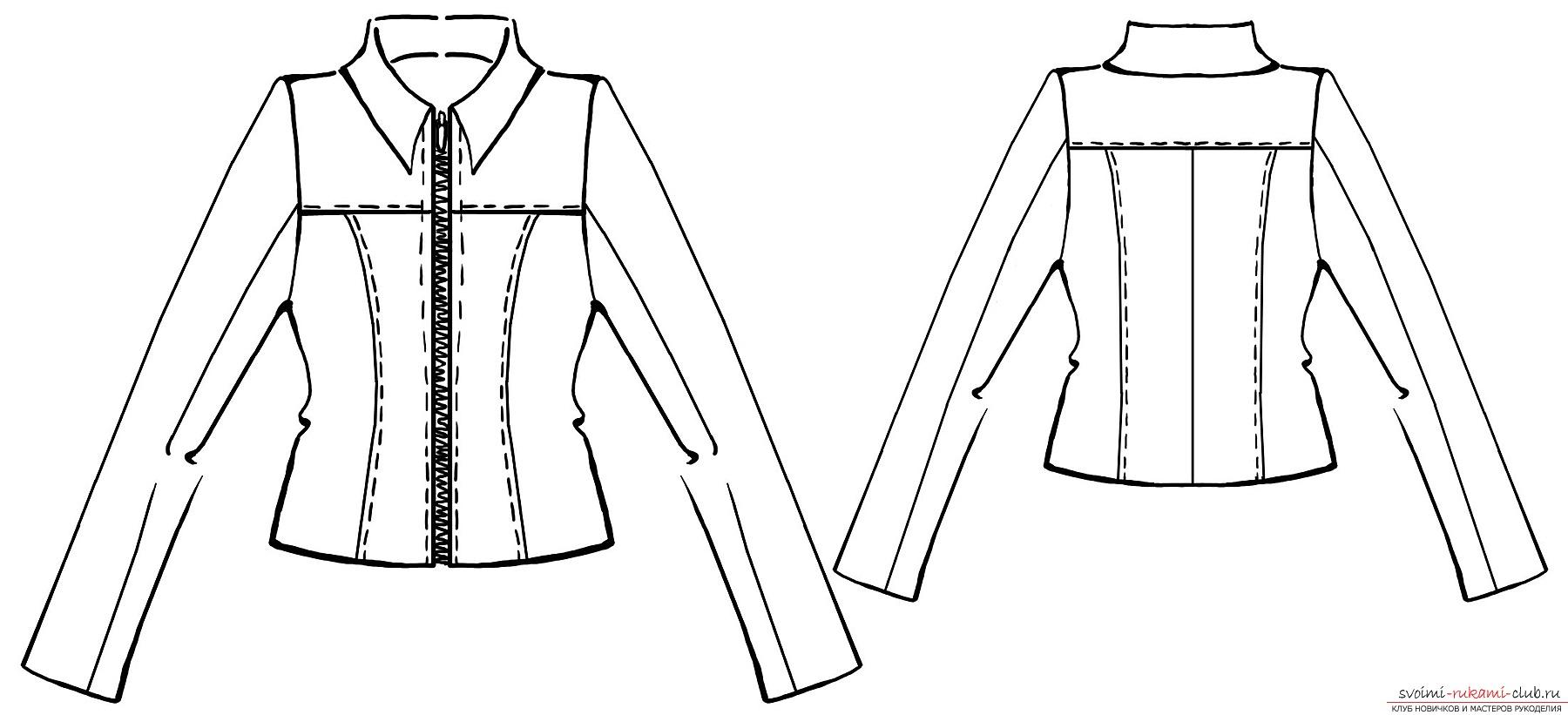 Модели детских курток с выкройками
