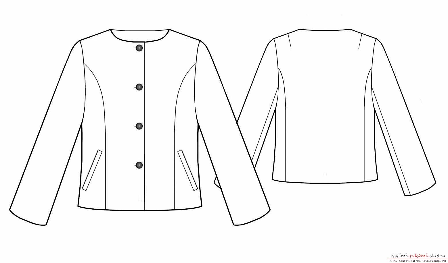 Выкройка женских курток - стильный и бюджетный вариант