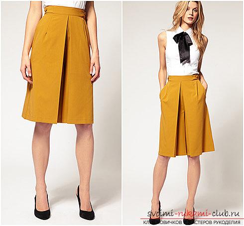 Стильные юбки с выкройками