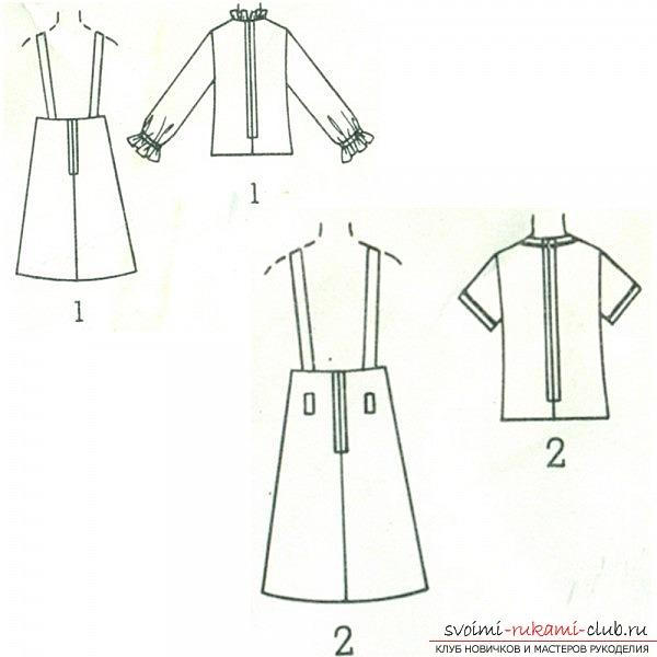 выкройка юбки трапеции для девочки: