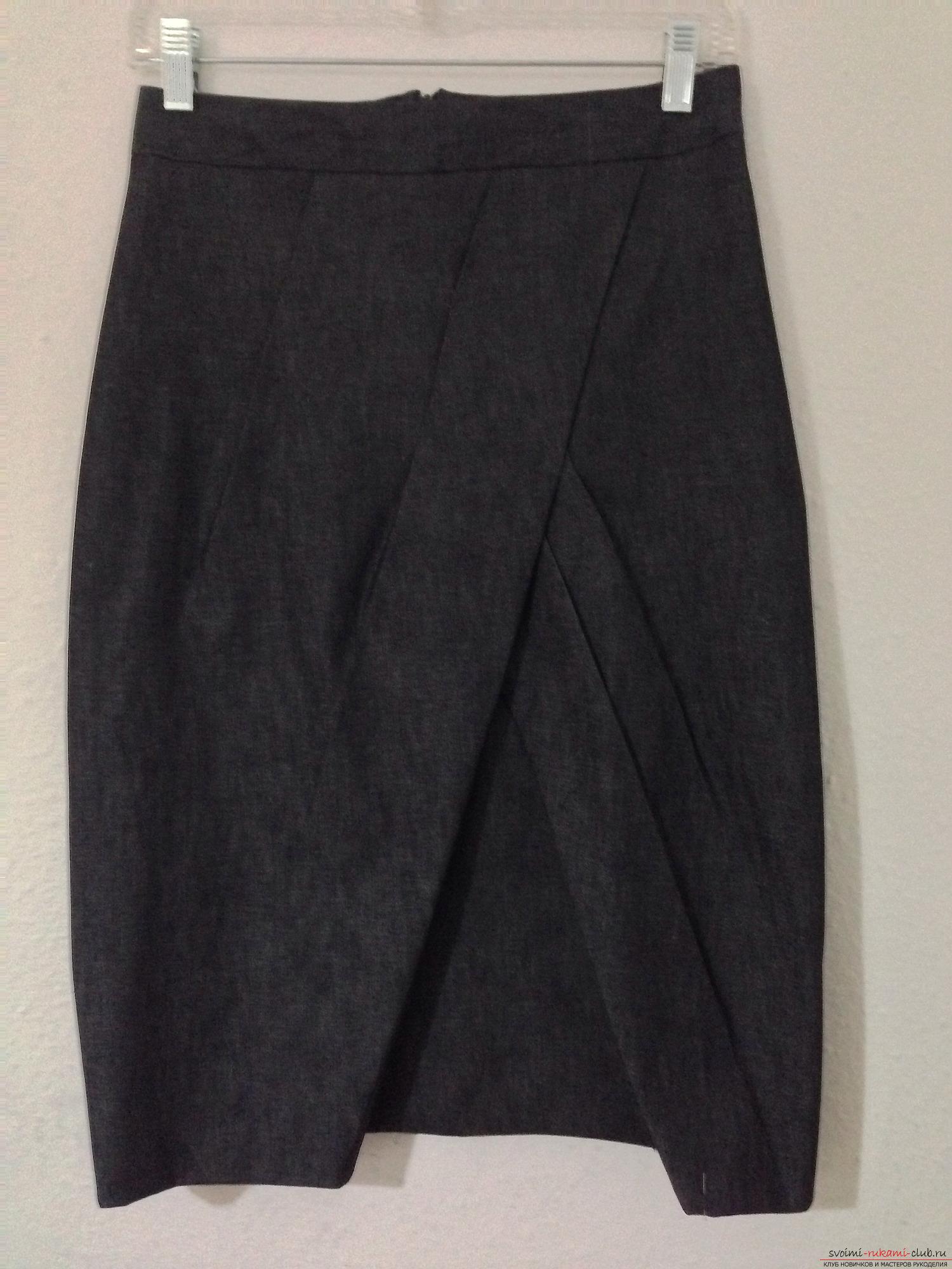 Выкройка юбки-тюльпан от Анастасии Корфиати 3