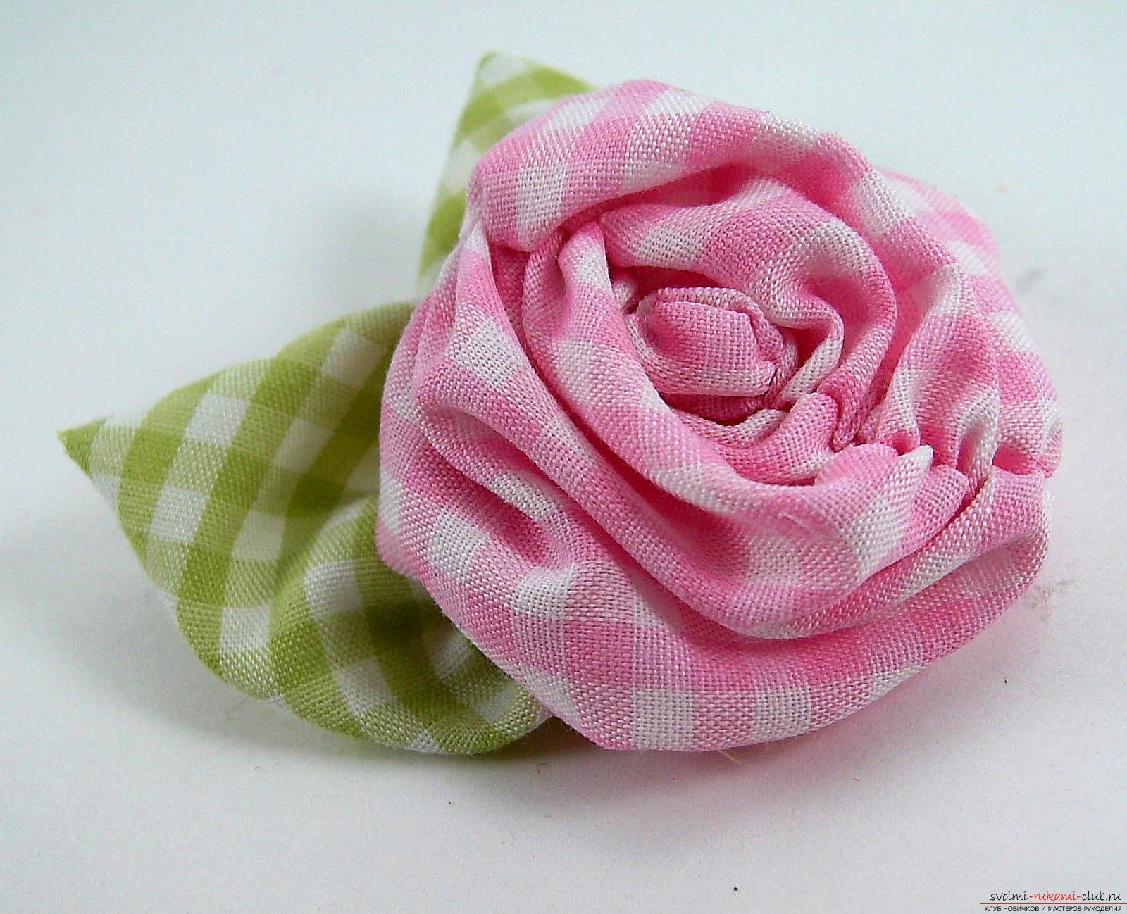 Сделать цветы из трикотажа для платья своими руками
