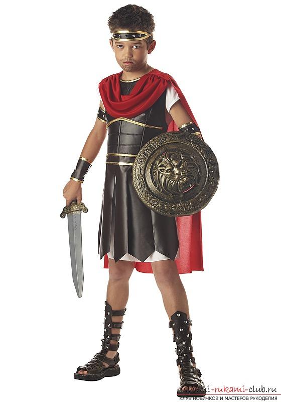 Костюм спартанца для мальчика своими руками