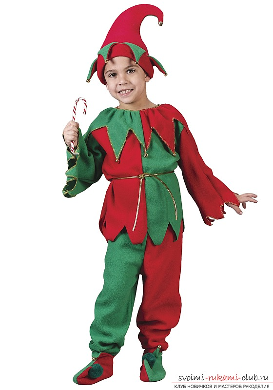 Фото костюм петрушки для мальчика своими руками