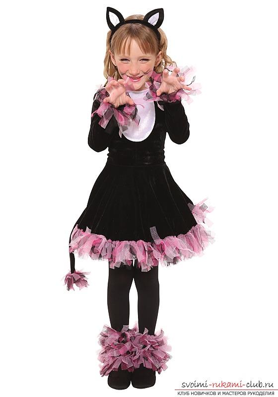Новогодний костюм для девочки 10 года своими руками