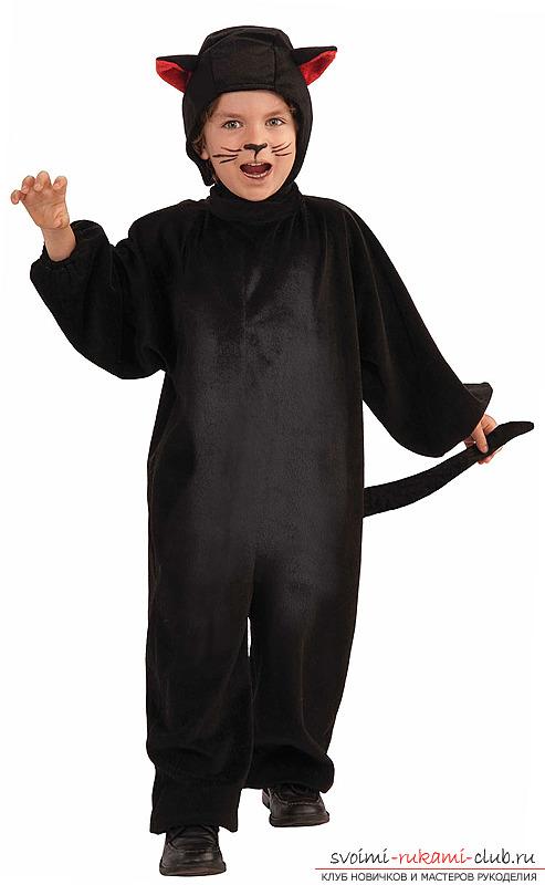 Карнавальный костюм своими руками кошки