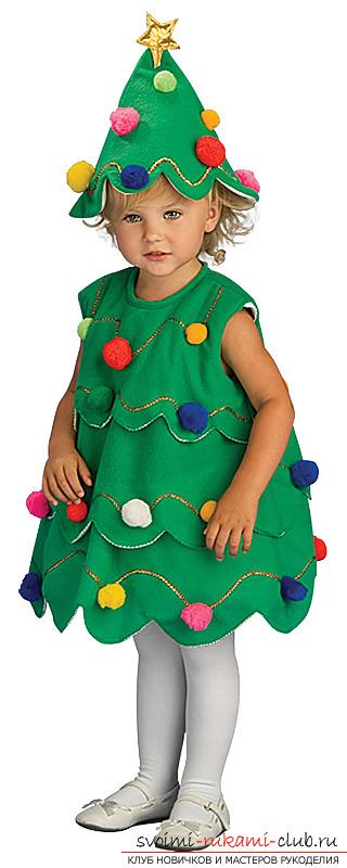 Платье на елку своими руками