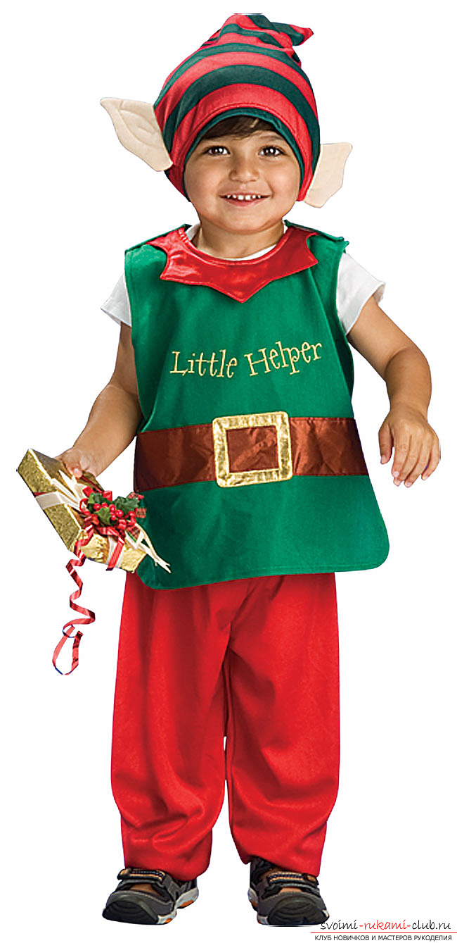 Детские костюмы на новый год своими руками фото