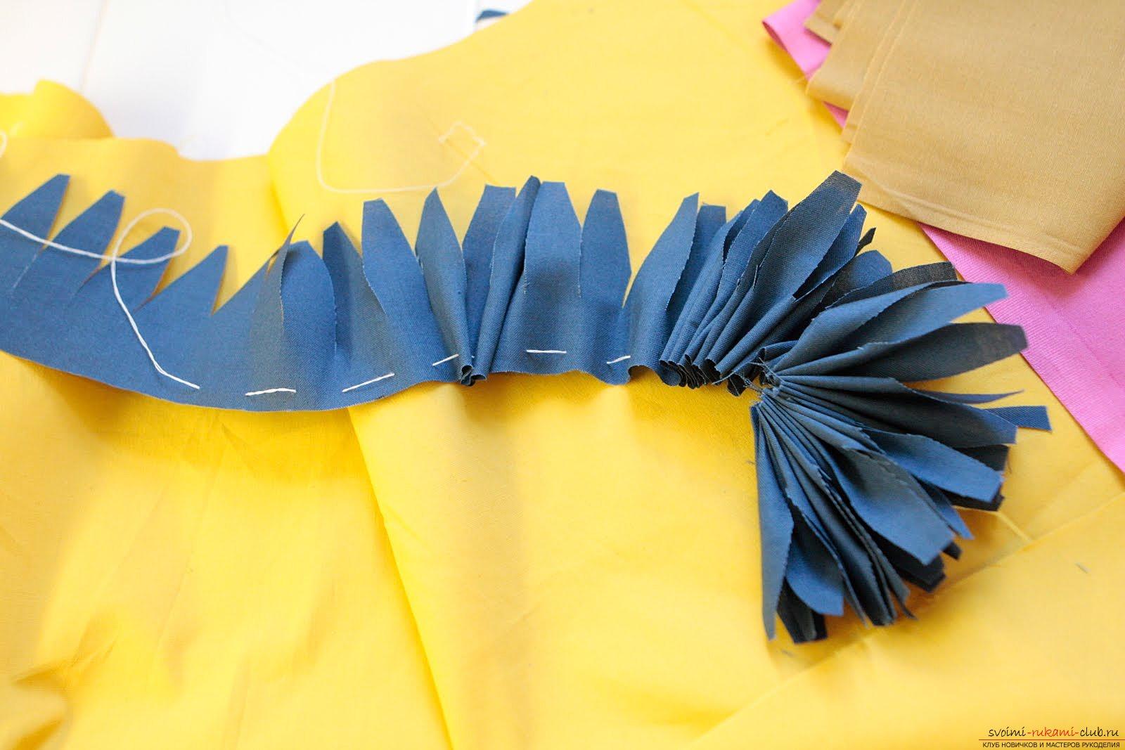 Необычные поделки из ткани своими руками 3