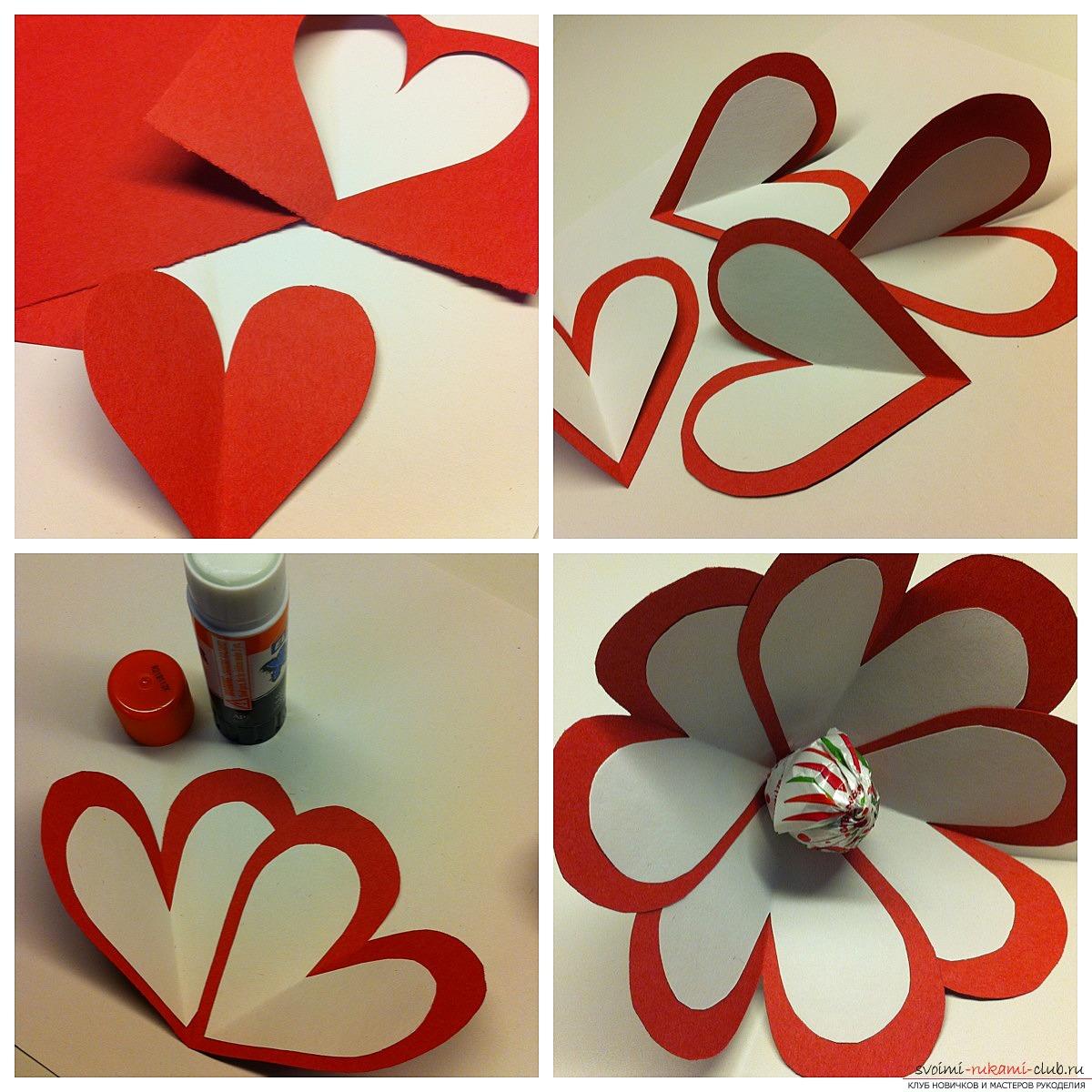Как сделать на день валентина поделку своими руками