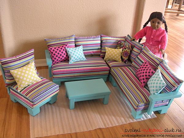 Смотреть как сделать кровать куклы монстер хай
