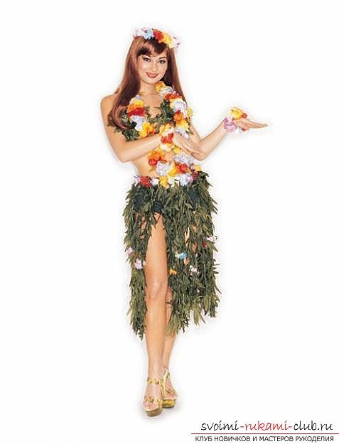 Гавайские костюмы своими руками 926