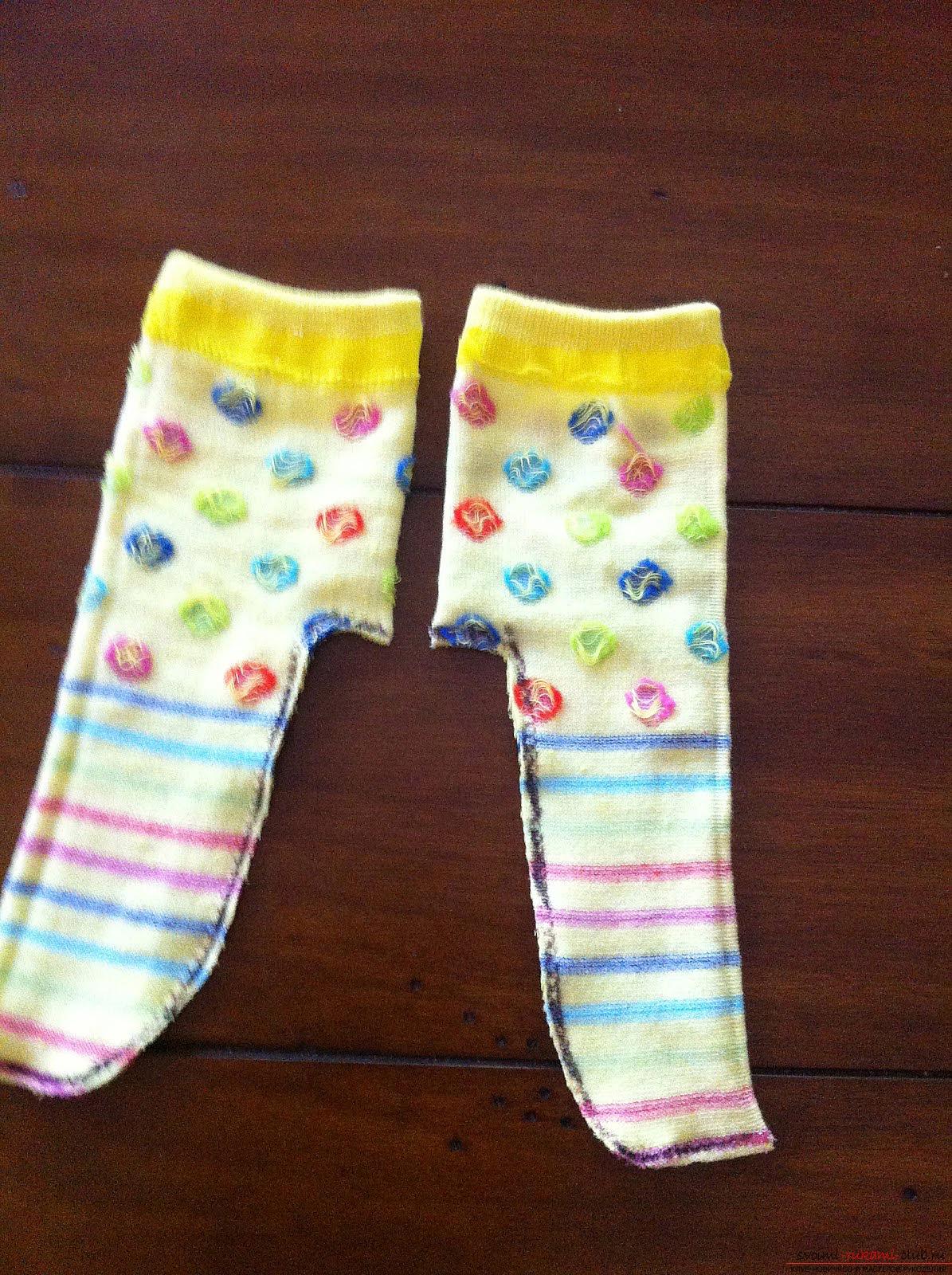 Как сделать носки для куклы беби бон