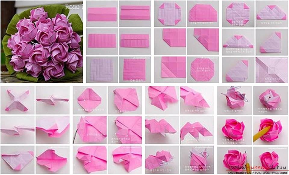 Как делать цветы из салфеток своими руками
